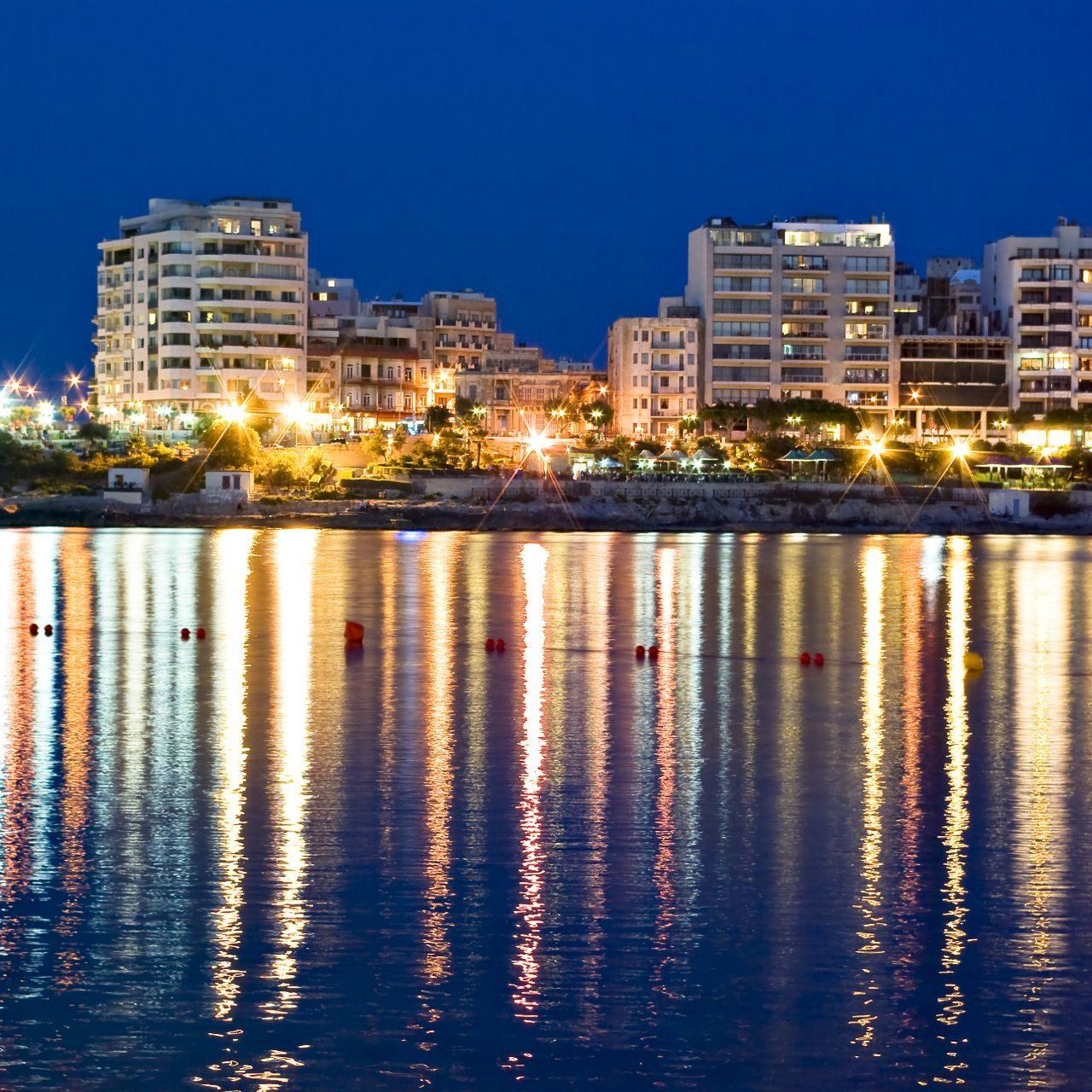 night at Sliema Exiles